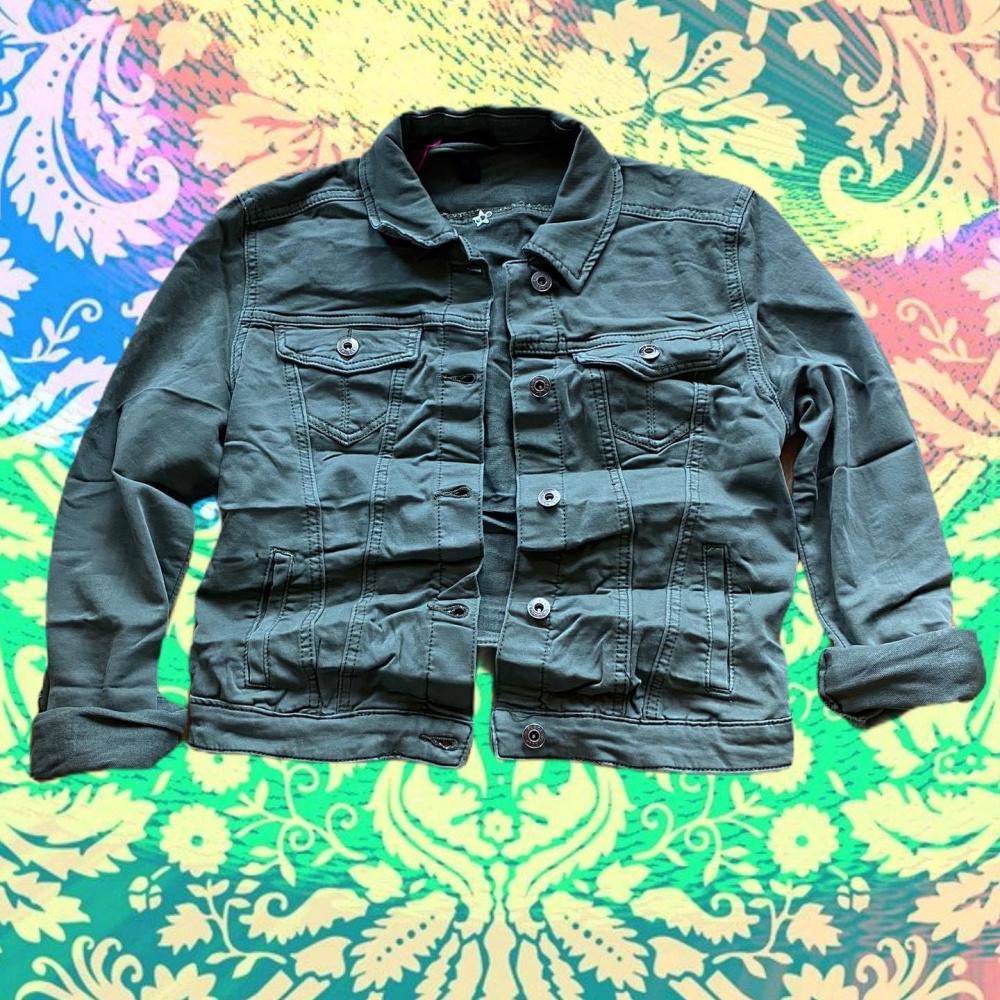 Culture Ermina Jeans Jacket White Torgstua Mote AS